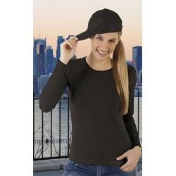 T-shirt elasticizzata donna