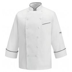Giacca cuoco ANDREA PIPING